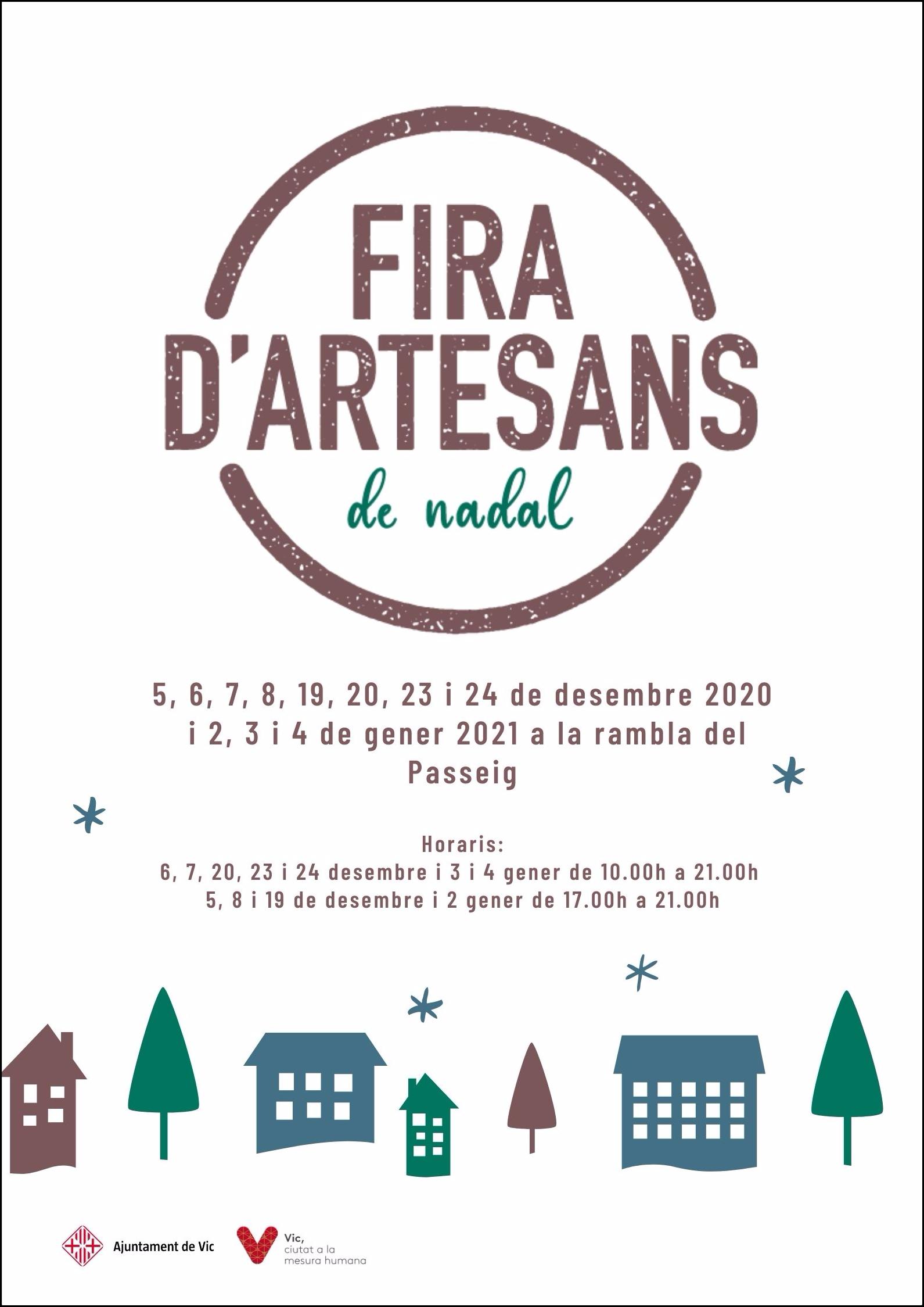 FIRA D'ARTESANS DE NADAL 2020