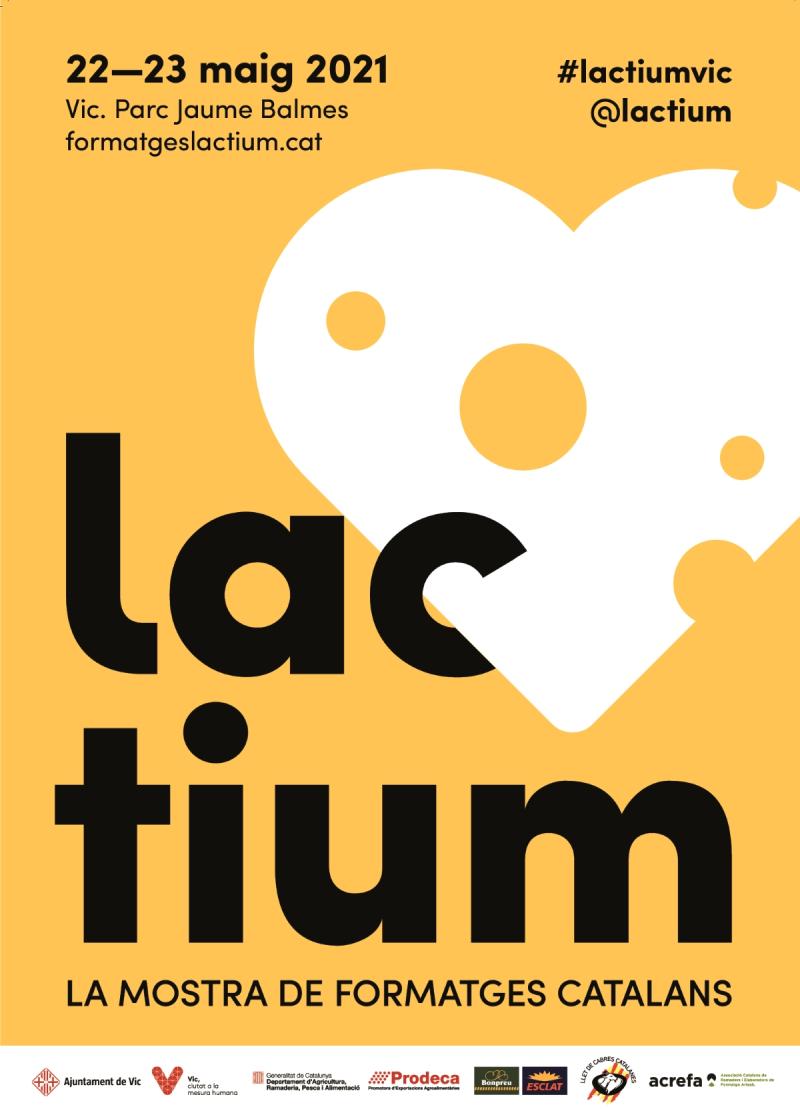 LACTIUM, LA MOSTRA DE FORMATGES CATALANS 2021
